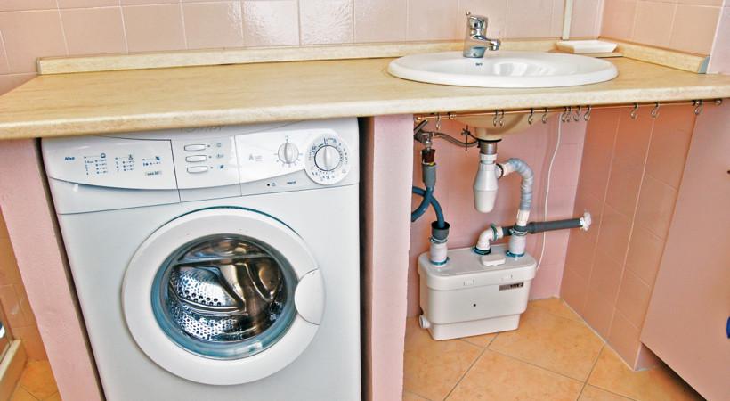 Sani soluzioni per la gestione delle acque chiare e scure sanipump2 - Scarico lavandino bagno ...